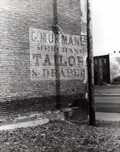 C. Morman Merchant Tailor & Draper1982 N. St. Louis Photo - Wm.Stage