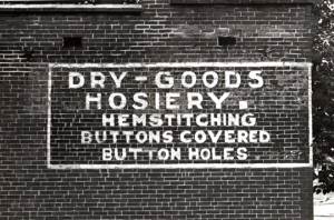 Dry - Goods Hoisery 1980 S. St. LouisPhoto - Wm. Stage